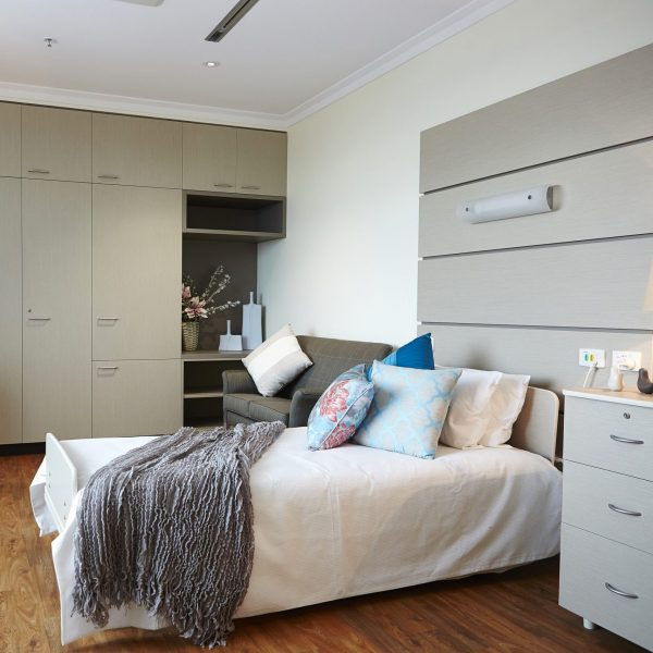 Flexible room layouts cater for different lifestyle and care requirements.